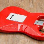 Squier Affinity Stratocaster Red ด้านหลัง ขายราคาพิเศษ