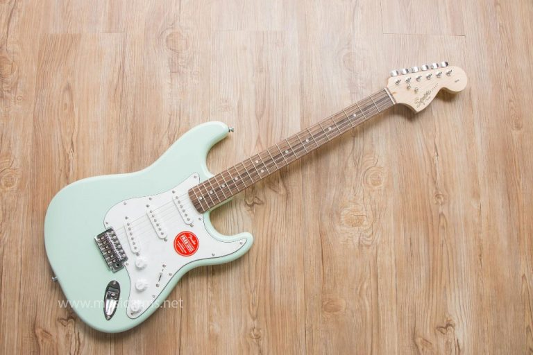 Squier Affinity Stratocaster Surf Green ขายราคาพิเศษ