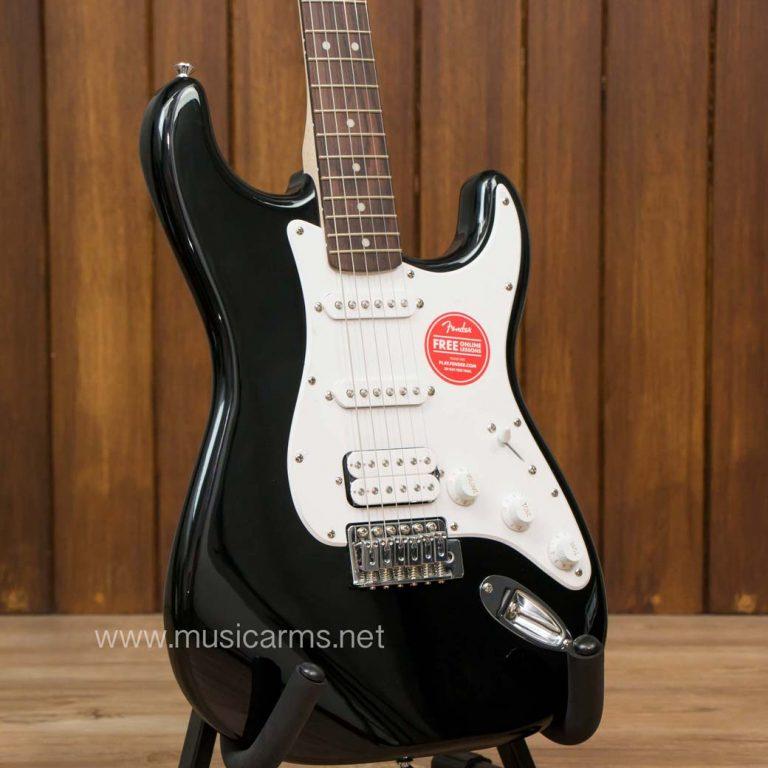 Squier Bullet Stratocaster HSS Black Body ขายราคาพิเศษ
