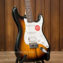 Squier Bullet Stratocaster HSS Black and Sunburst