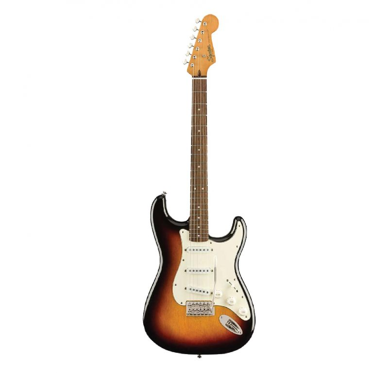 Squier Classic Vibe Stratocaster 60s Sunburst ซันเบิร์ส ขายราคาพิเศษ