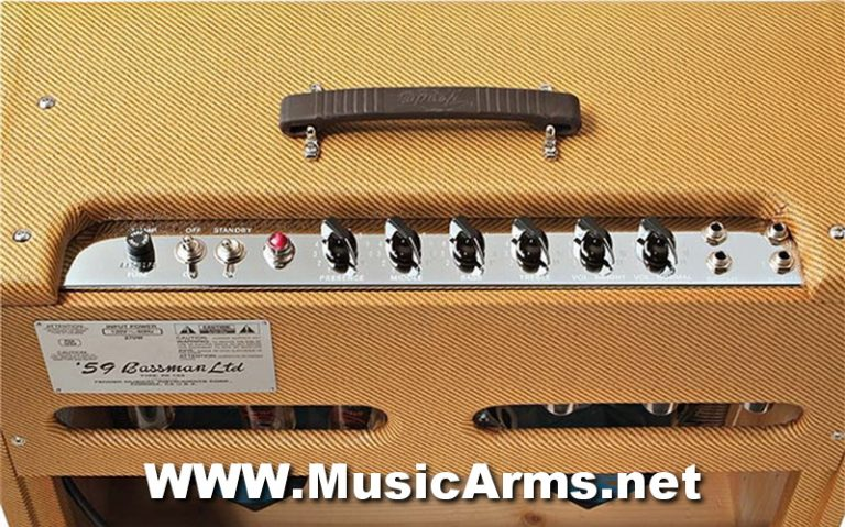 Fender Vintage Reissue '59 Bassman LTD 4X10 Guitar Combo ขายราคาพิเศษ