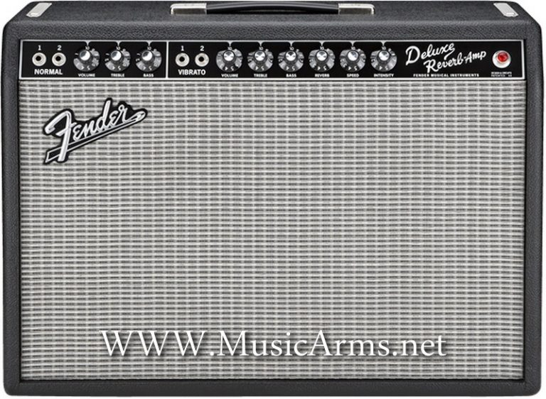 Fender '65 Deluxe Reverb 1×12 22-watt Black Tube Combo ขายราคาพิเศษ
