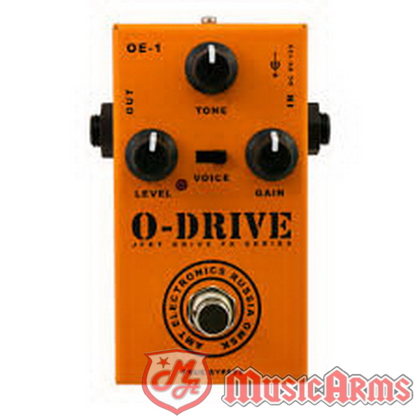 AMT ELECTRONICS O-DRIVE - JFET DISTORTION PEDAL ขายราคาพิเศษ