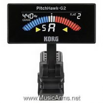 Korg PitchHawk-G2 Compact Clip-on Instrument Tuner