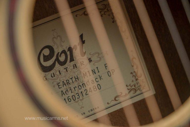 Cort Earth Mini F Adirondack ขายราคาพิเศษ