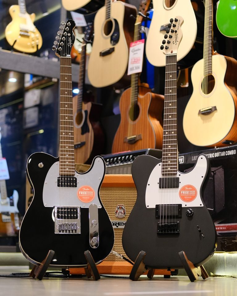 Showcase Squier Jim Root Telecaster