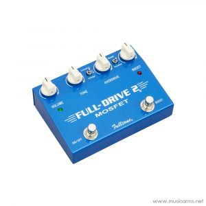 Face cover Fulltone-Fulldrive2-MOSFET-Overdrive-Clean-Boost-Guitar-Effects-Pedal-Blue
