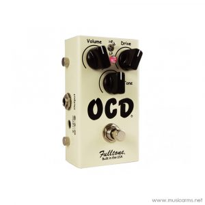 Face cover Fulltone-OCD-Obsessive-Compulsive-Drive-Overdrive-Guitar-Effects-Pedal