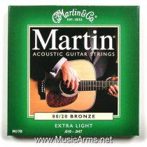 MARTIN 8020 bronze, extra light gauge, 010