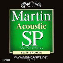 MARTIN MSP-3000, extra light gauge and.010-.047