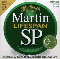 MARTIN MSP6000 ACOUSTIC GUITAR SET, SP LIFESPAN