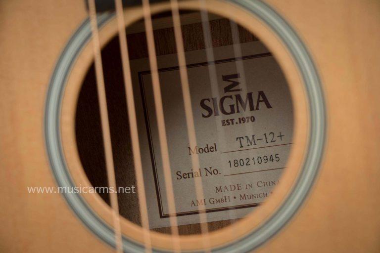Sigma TM-12 ขายราคาพิเศษ