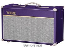 Vox ac15c1 purple