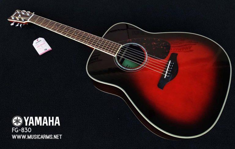 Yamaha_FG830_AUTUMN_BURST ขายราคาพิเศษ