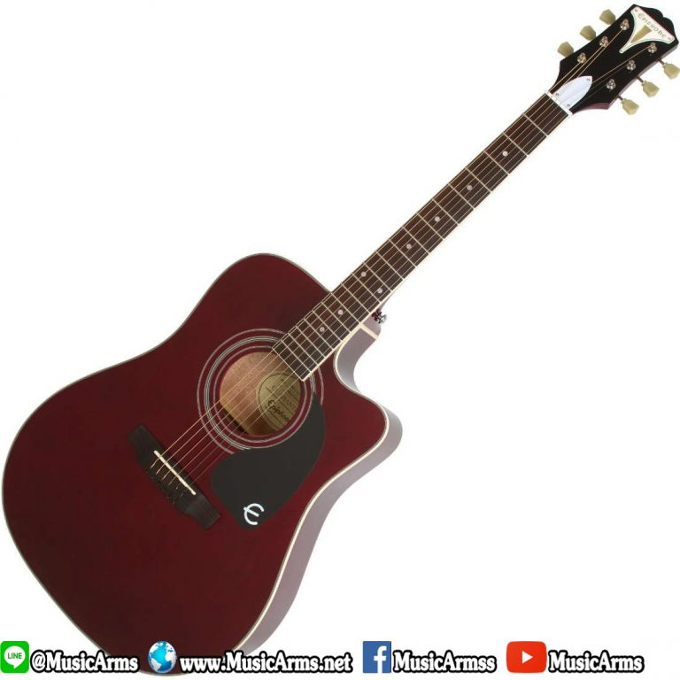 epiphone_pro-1_ultra_dreadnought_electro_acoustic_guitar_-_wine_red ขายราคาพิเศษ