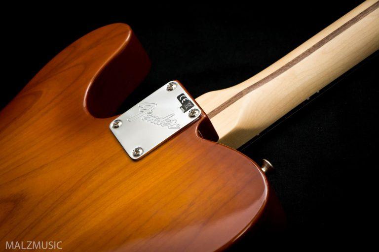 ด้านหลัง ็ Fender American Performer Telecaster RW Honey Burst ขายราคาพิเศษ