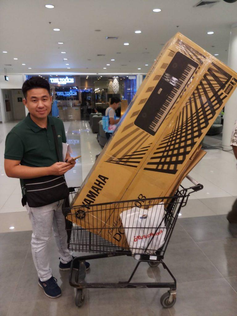 ลูกค้าที่ซื้อ Yamaha DGX-660