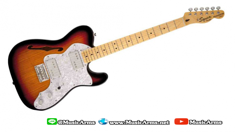 Squier Vintage Modified 72 Telecaster Thinline Maple Neck ขายราคาพิเศษ