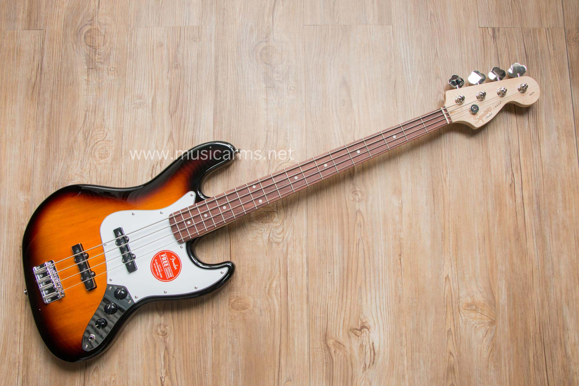 squier affinity jazz bass bsb 4 สาย