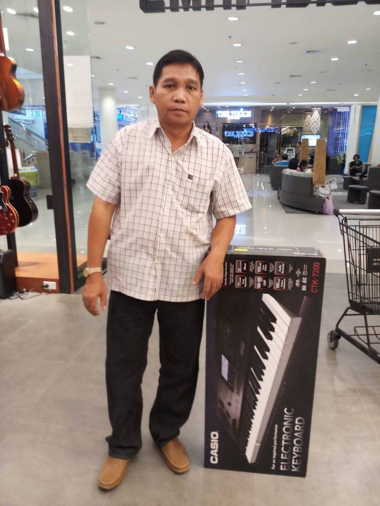 ลูกค้าที่ซื้อ Casio CTK-7200