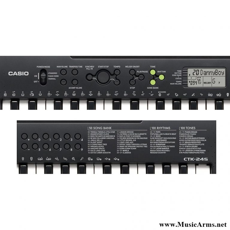 Casio CTK-245 ขายราคาพิเศษ
