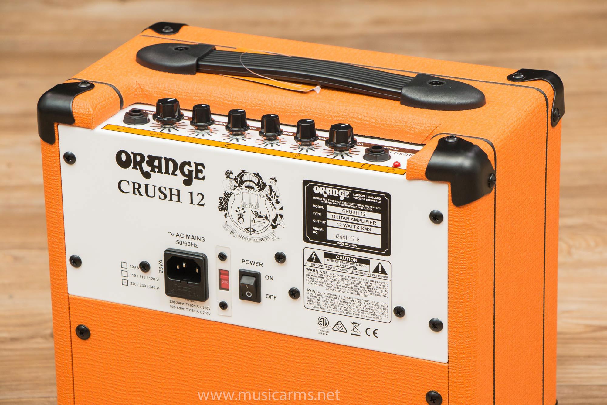 Orange CRUSH12