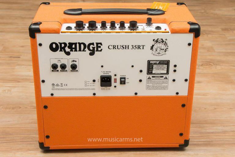 ด้านหลัง Orange Crush 35RT Guitar Amp ขายราคาพิเศษ