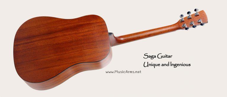 Saga-D10S-mahogany back ขายราคาพิเศษ