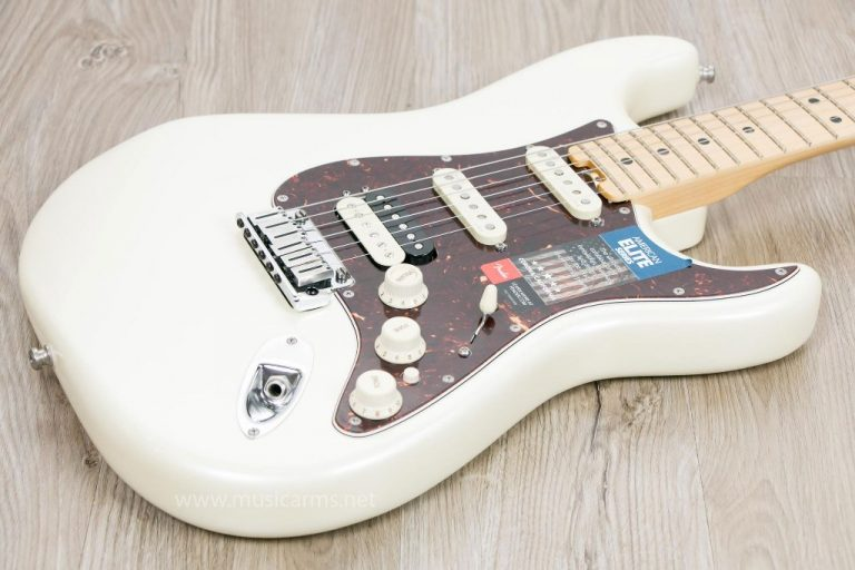 Fender American Elite Stratocaster White body ขายราคาพิเศษ