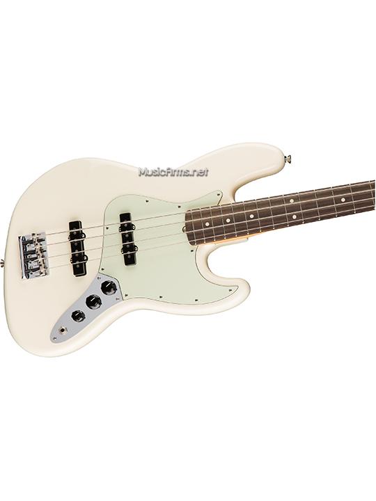 Fender American Professional Jazz Bassตัวขาว ขายราคาพิเศษ
