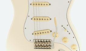 Fender Jimi Hendrix Stratocasterคอยsss