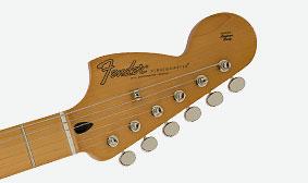 Fender Jimi Hendrix Stratocasterหน้าคอ