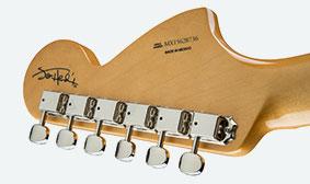 Fender Jimi Hendrix Stratocasterหลังคอ
