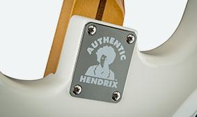 Fender Jimi Hendrix Stratocasterเพสหลัง