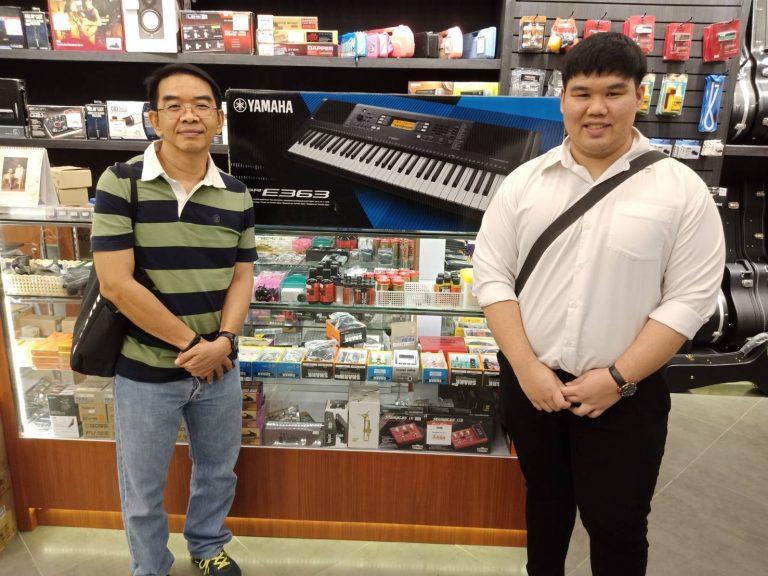 ลูกค้าที่ซื้อ Yamaha PSR E-363 คีย์บอร์ดคุณภาพ