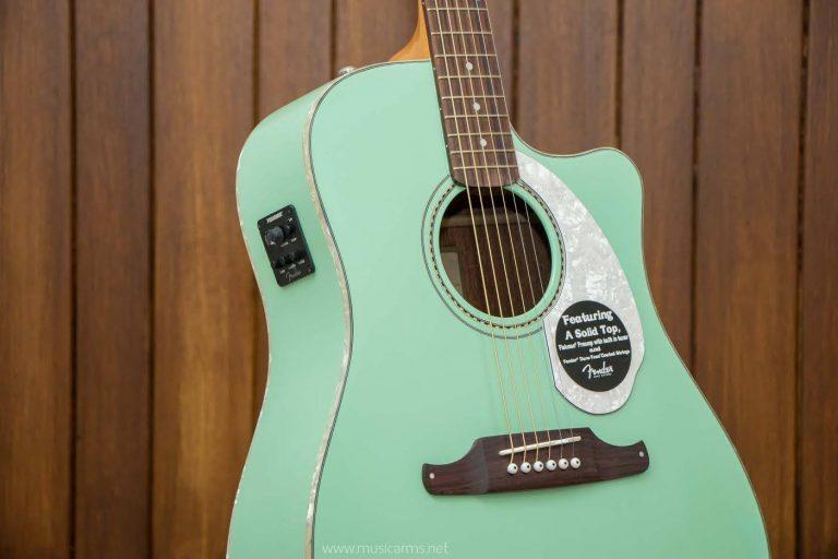 Fender Sonoran SCE green ขายราคาพิเศษ