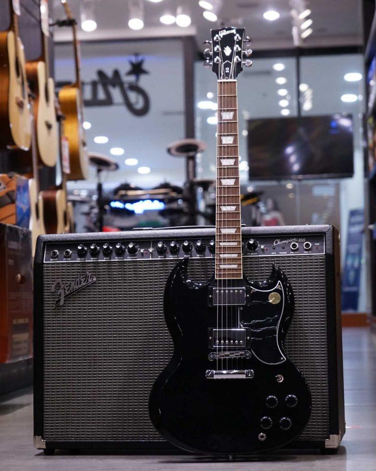 Showcase กีต้าร์ไฟฟ้า Gibson SG Standard 2017 T