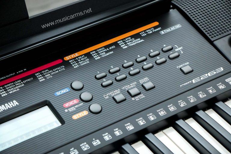 Yamaha PSR E-263 ขายราคาพิเศษ