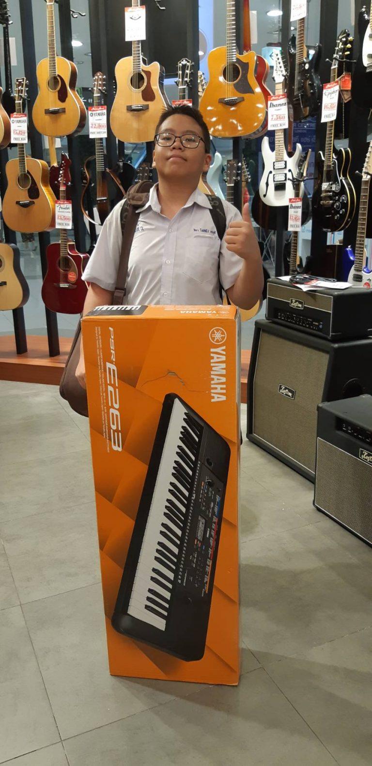ลูกค้าที่ซื้อ Yamaha PSR E-263