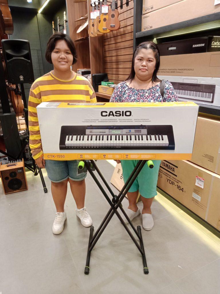 ลูกค้าที่ซื้อ Casio CTK 1550