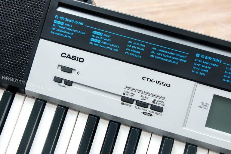 Casio CTK1550 คีย์บอร์ด ขายราคาพิเศษ