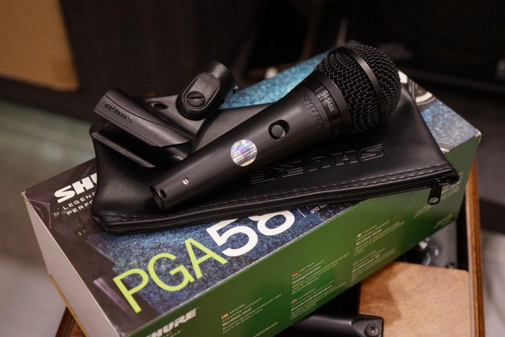 ไมค์ Shure PGA58-LC