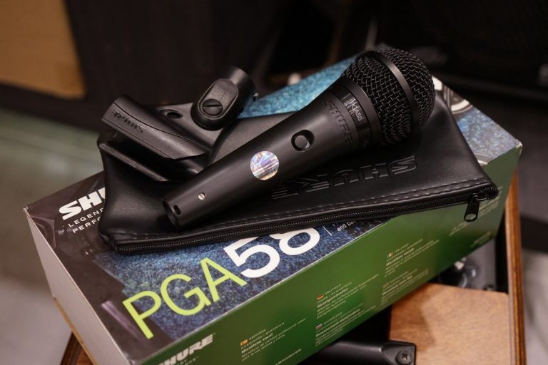 Showcase ไมโครโฟน Shure PGA58-LC