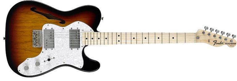 Fender 72 Tele Thinline ขายราคาพิเศษ