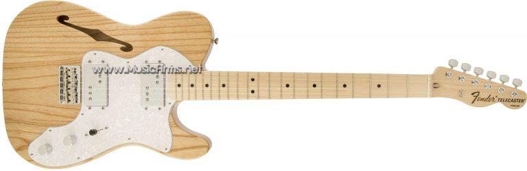Fender 72 Tele Thinline mn SBตัวขาว ขายราคาพิเศษ