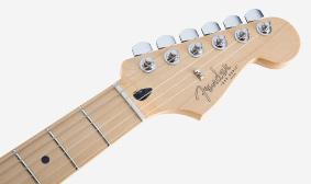 Fender Duo-Sonicหน้าคอและบลิช