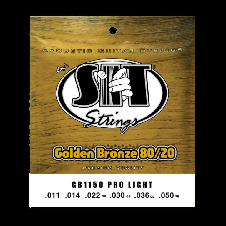 สายกีต้าร์ SIT 11-50 Golden Bronze 80/20 Acoustic Pro Light ขายราคาพิเศษ
