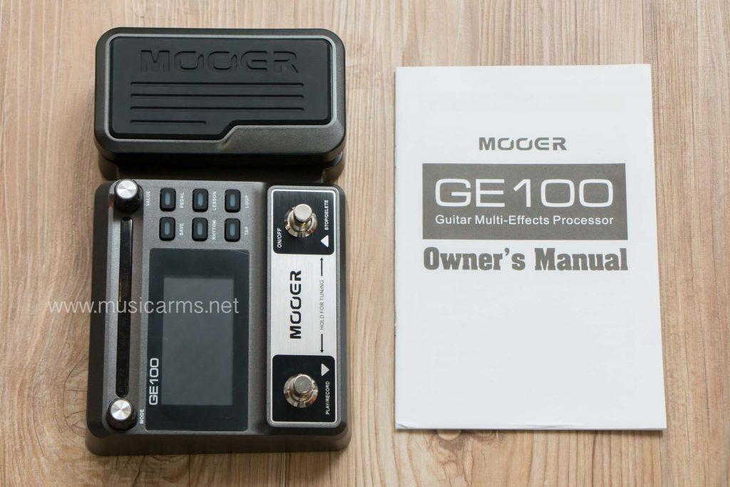 Mooer GE100 เอฟเฟคราคาถูก | ซื้อเครื่องดนตรีราคาพิเศษ ร้าน 4
