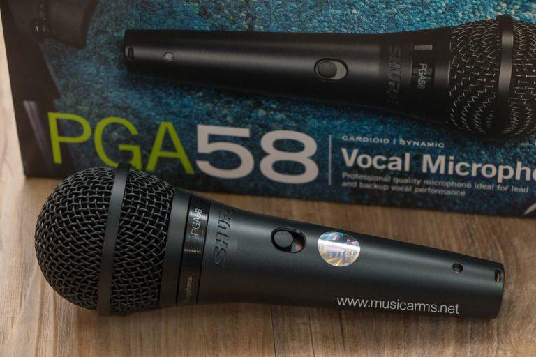 ไมโครโฟน Shure PGA58-LC ขายราคาพิเศษ